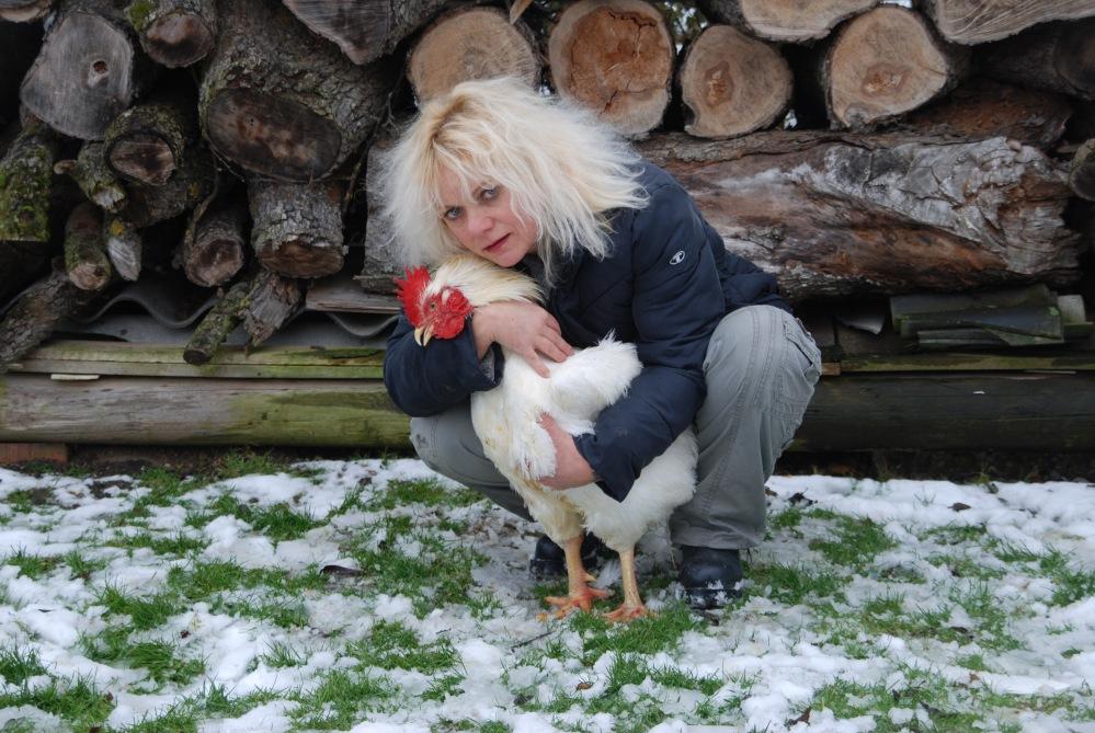Frohe Ostern -  oh my love, Hühner - ein Bekennerschreiben (1/6)